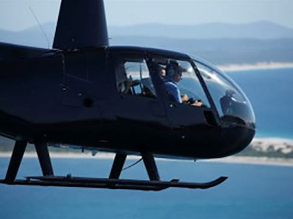 Jet Fighter: Adventure and Adrenaline flights in Australia - Robinson R44 Helicopter