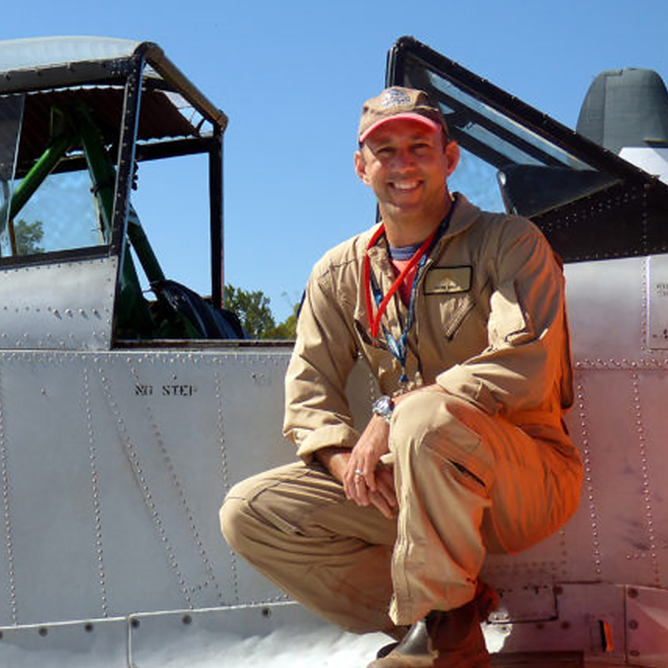 Jet Fighter Pilot: Commercial Pilot Mark Awad