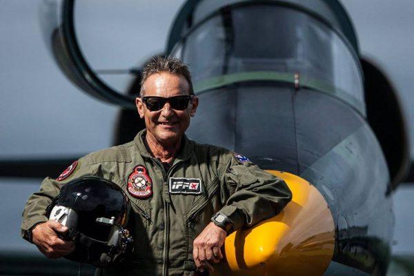 Jet Fighter: Pilot Captain Rodney Hall