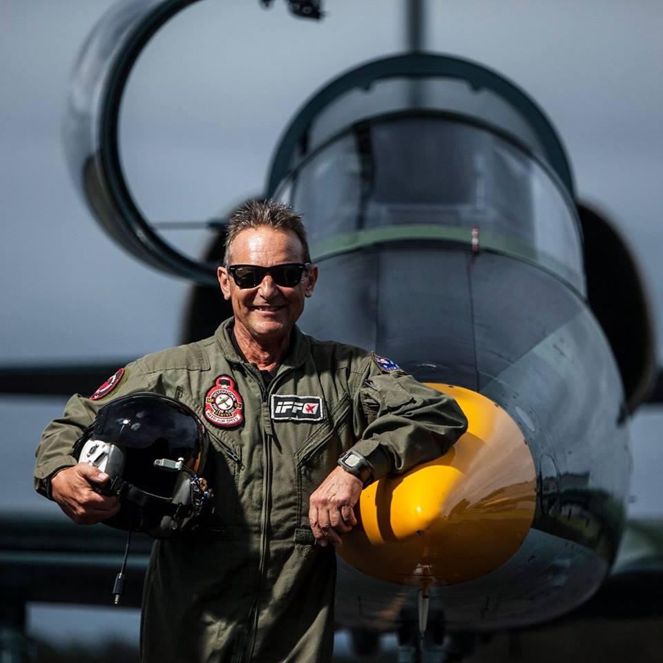 Jet Fighter: Pilot Captain Rodney Hall. Adventure Flight, Adrenaline Flight & Scenic Flights