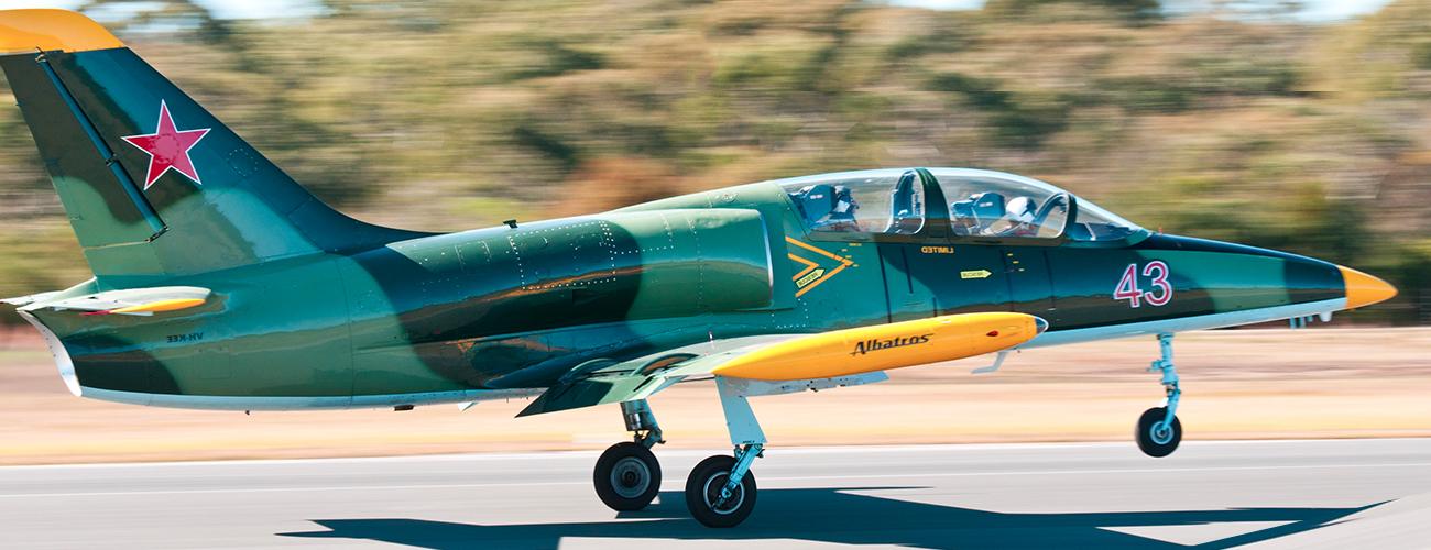 JetFighter Taking Off Banner
