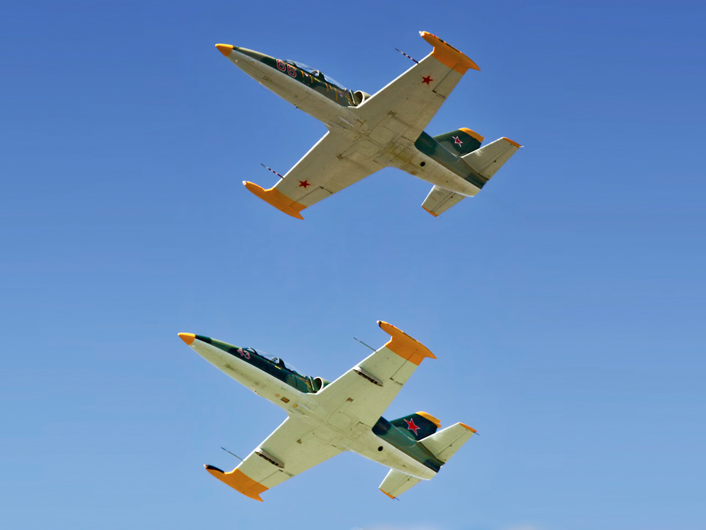 Jet Fighter: L39 Albatros Fighter Jet Adventure Flight, Adrenaline Flight & Scenic Flights