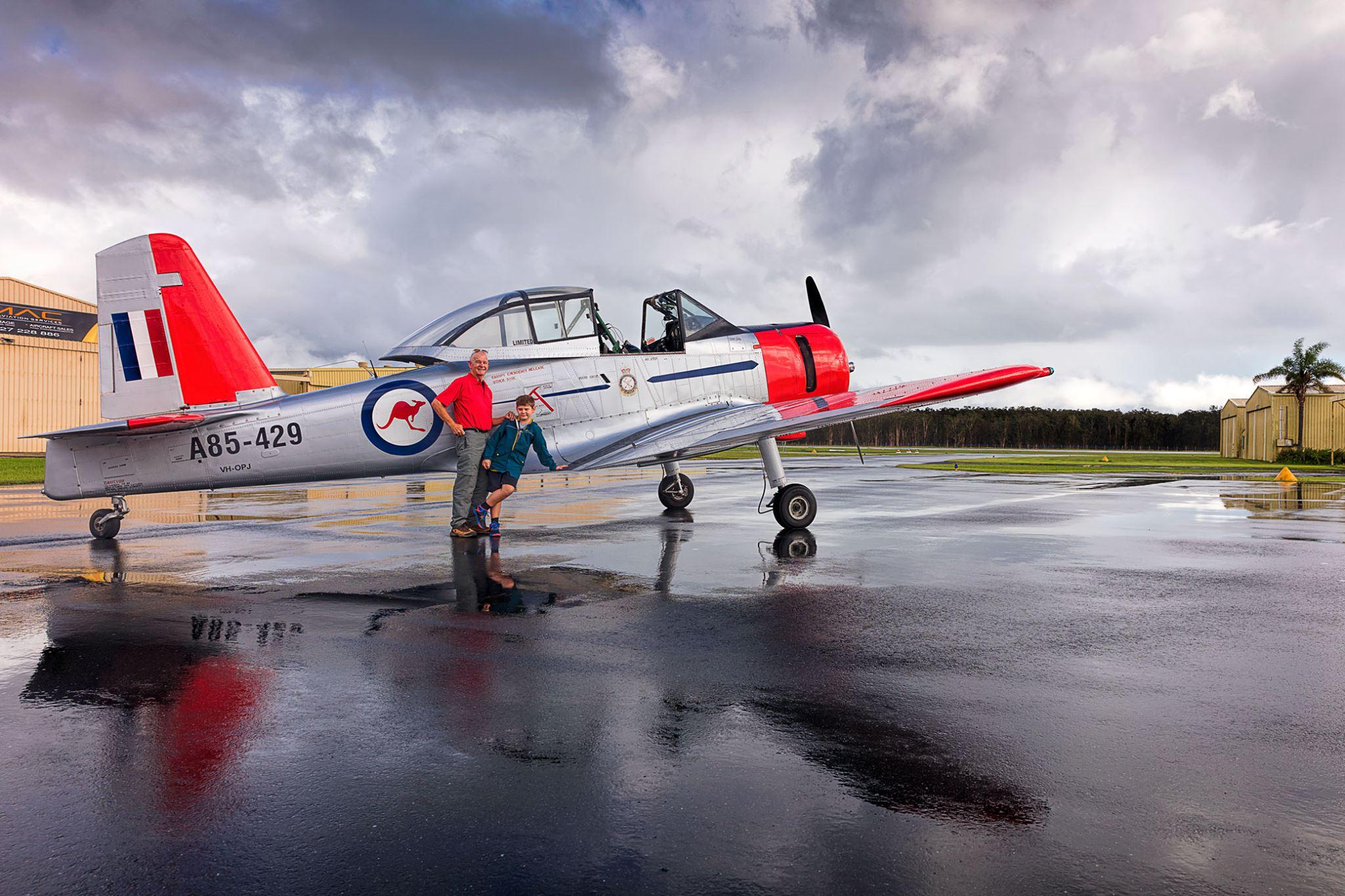 Jet Fighter: Adventure and Adrenaline flights in Australia - CA-25 Winjeel