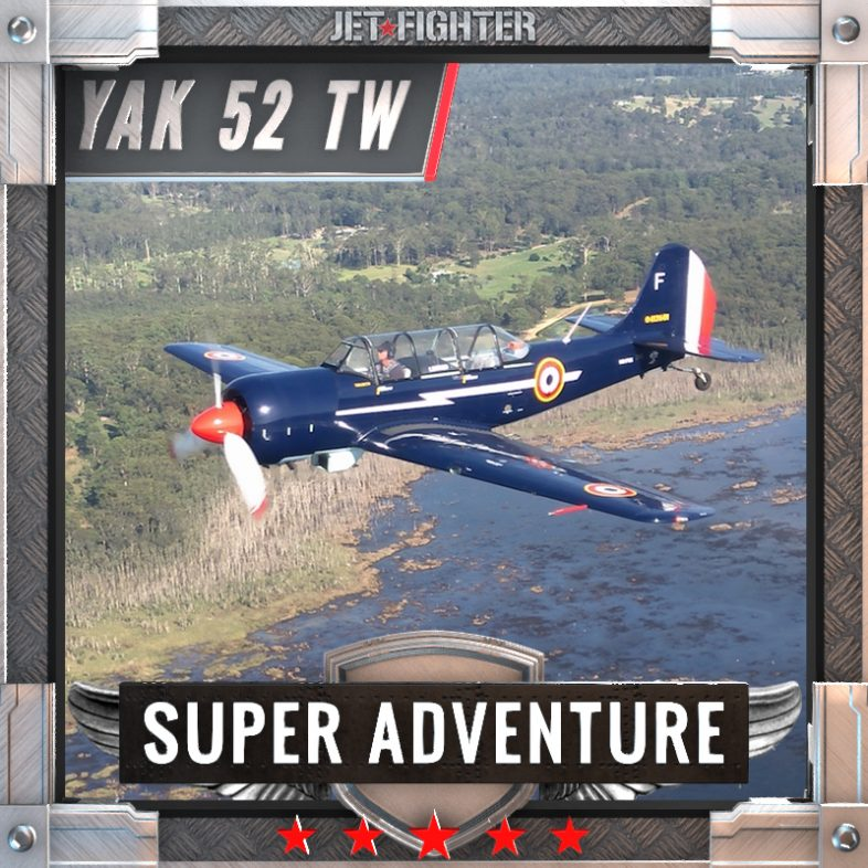 Jet Fighter: Adventure and Adrenaline flights in Australia - TrojanJet Fighter: Adventure and Adrenaline flights in Australia - Yak 52 TW