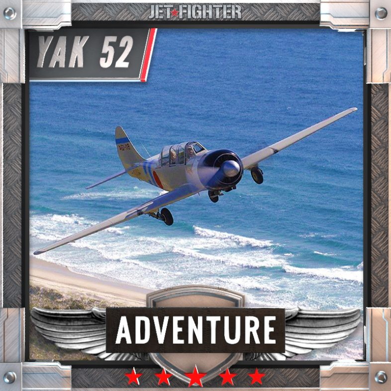 Jet Fighter: Adventure and Adrenaline flights in Australia - TrojanJet Fighter: Adventure and Adrenaline flights in Australia - Yak 52