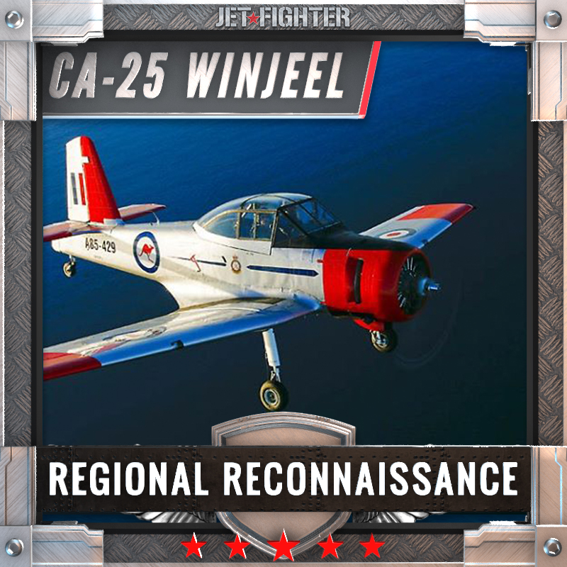 Jet Fighter: Adventure and Adrenaline flights in Australia - CA-25 Winjeel