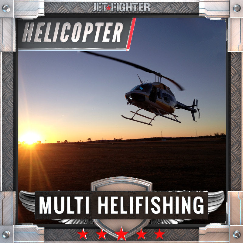 Jet Fighter: Adventure and Adrenaline flights in Australia - Helicopter Helifishing
