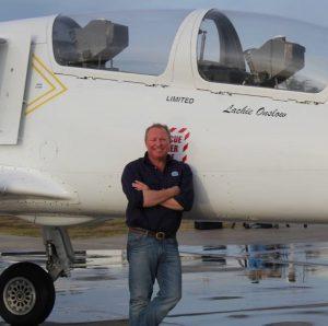 Jet Fighter: Chief Pilot Lachie Onslow
