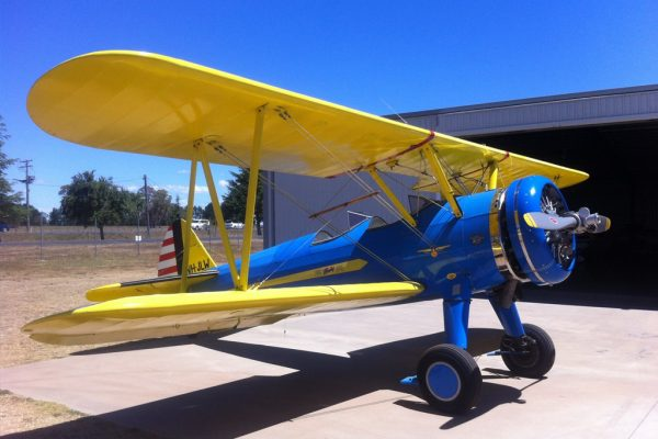 Jet Fighter: Adventure and Adrenaline flights in Australia - Boeing Stearman