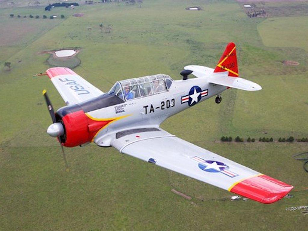 Jet Fighter: Adventure and Adrenaline flights in Australia - T6 Texan