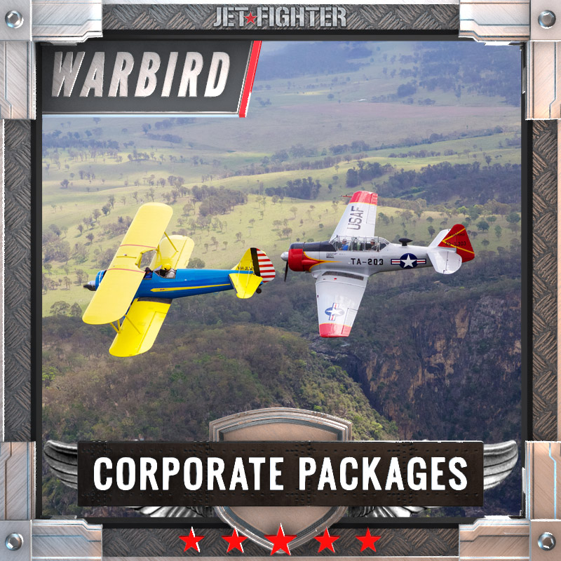Jet Fighter: Adventure and Adrenaline flights in Australia - Warbird